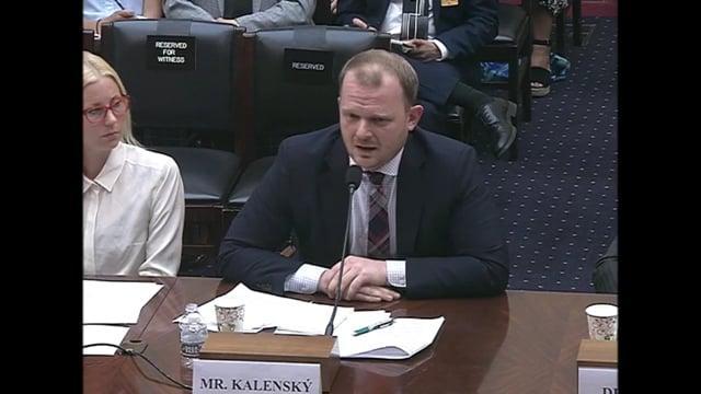 [AE News] Šokující záznam z vystoupení Jakuba Kalenského ve výboru amerického Kongresu! [CZ Titulky]